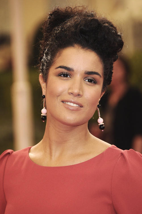 Sabrina Ouazani at the premiere of