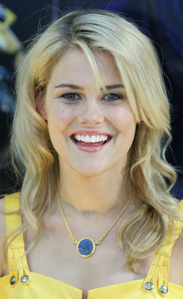 Actress Rachael Taylor at a press conference in Sydney.