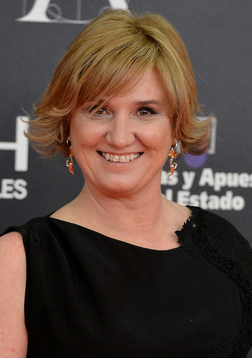Ana Wagener at the Goya Cinema Awards 2013 in Madrid.