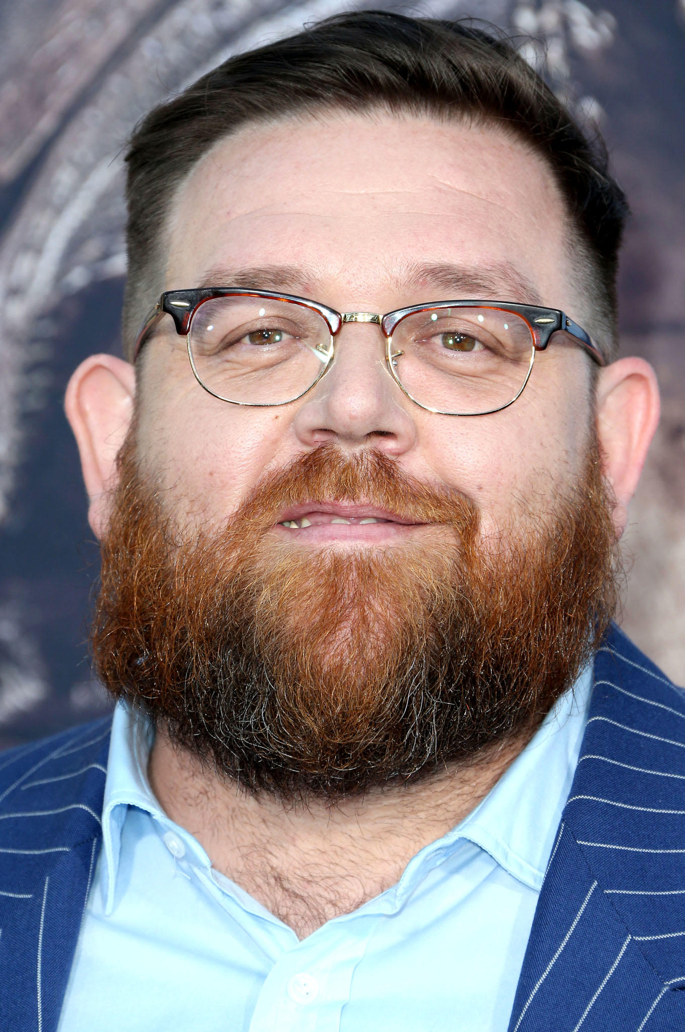 Nick Frost at the premiere of