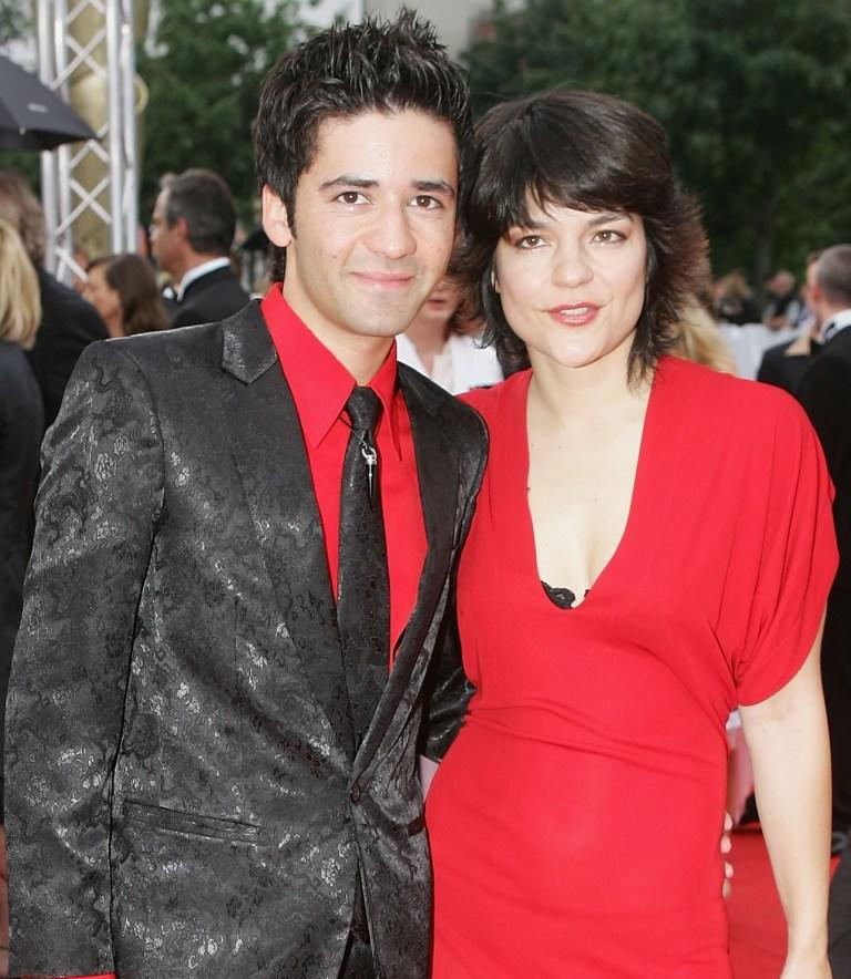 Navid Akhavan and Jasmin Tabatabai at the Deutscher Filmpreis, the German Film Awards.
