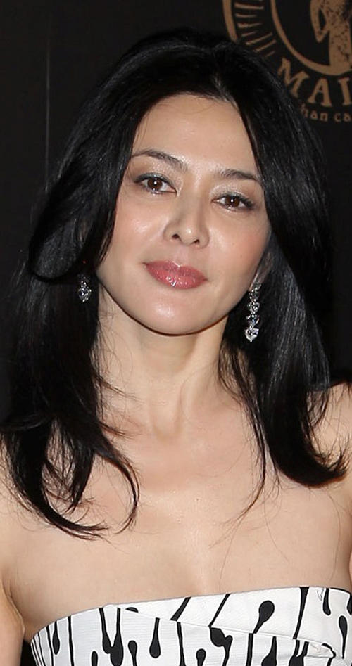 Rosamund Kwan at the reception to benefit UNICEF hosted by Gucci during the Mercedes-Benz Fashion Week Fall 2008 in New York.