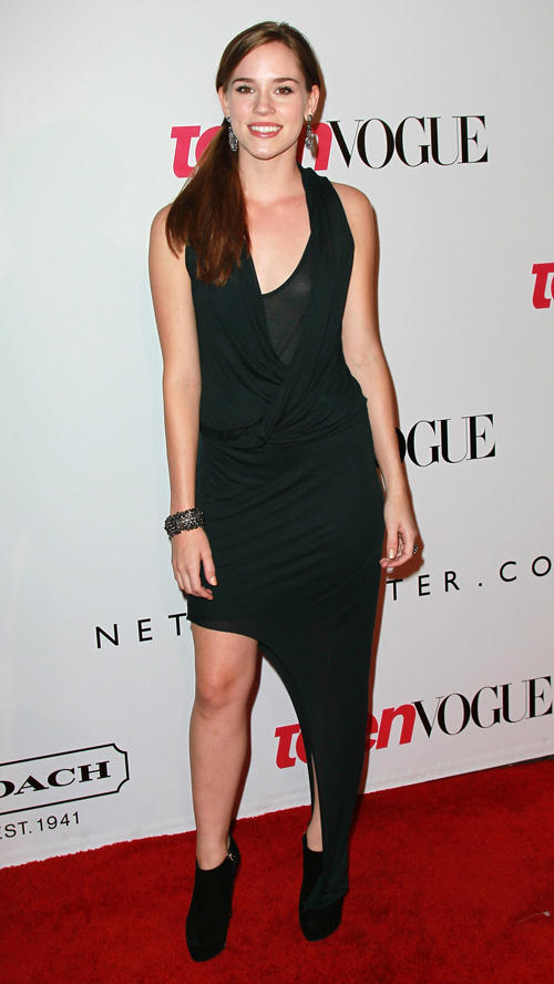 Christa B. Allen at the 9th Annual Teen Vogue's Young Hollywood party in California.
