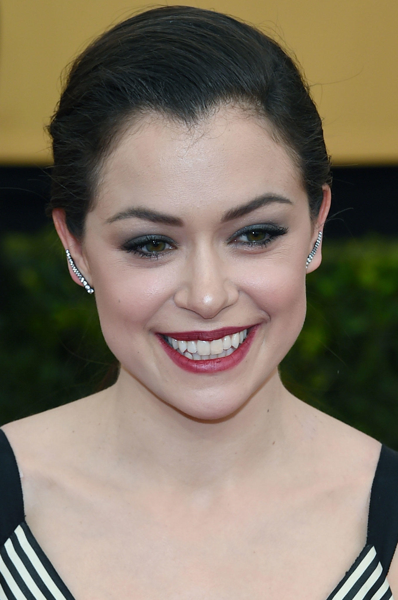 Tatiana Maslany at the Screen Actors Guild Awards.