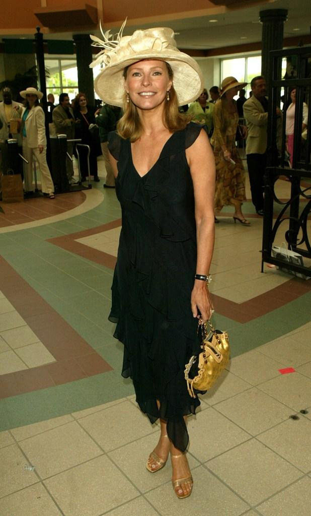 Cheryl Ladd at the 131st Kentucky Derby.