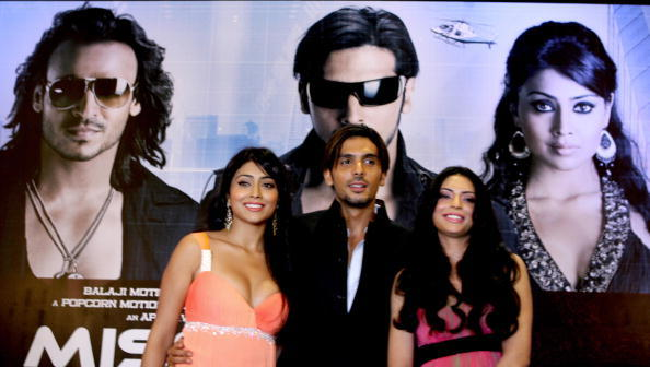 Shreya Saran, Zayed Khan and Shweta Bharadwaj at the promotion of