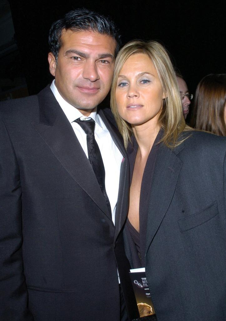 Tamer Hassan at the after party of the premiere of