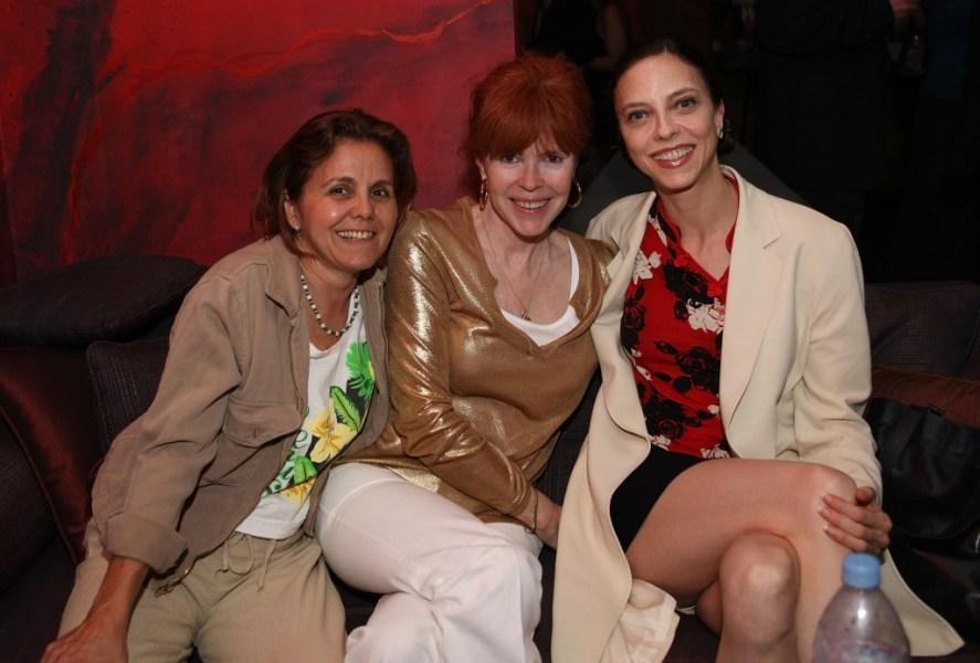 Mindy Schiller, Heather Love and Juliet Landau at the HBO Documentary Film party.