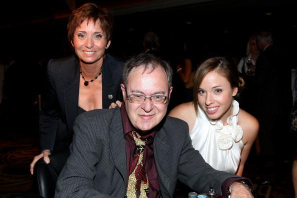 Kathy Fields, David L. Lander and Natalie Lander at the National Multiple Sclerosis Society's 34th Annual Dinner of Champions.