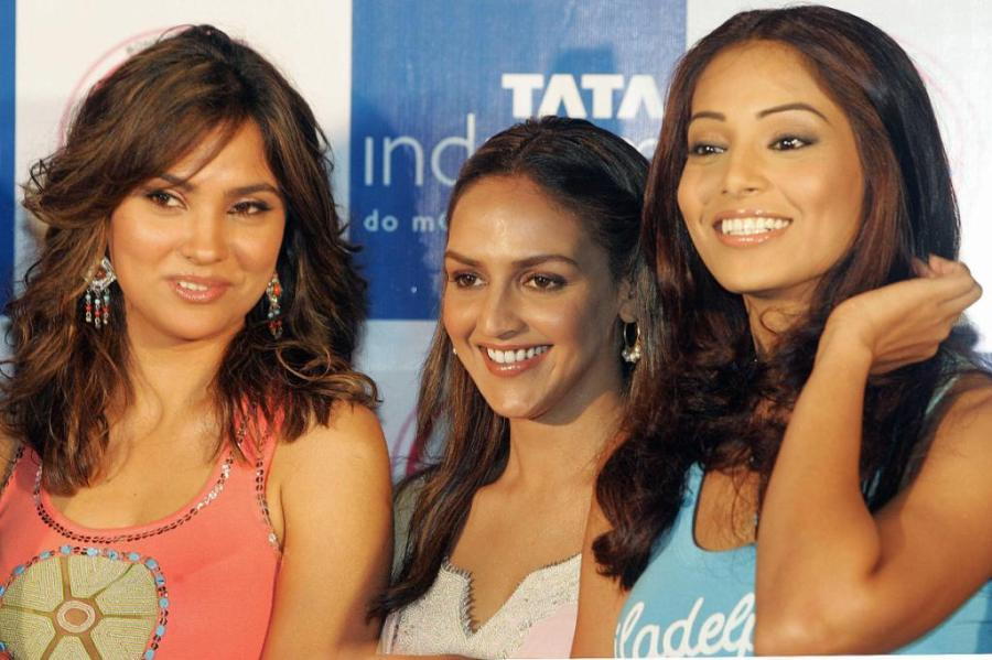 Lara Dutta, Esha Deol and Bipasha Basu at the promotion of