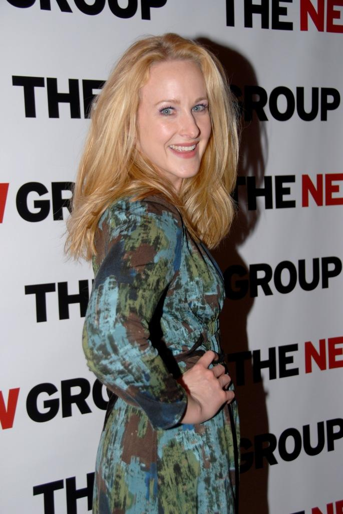Katie Finneran at the opening night party of