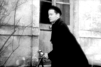 Claude Laydu as Priest of Ambricourt in ``Diary of a Country Priest.''
