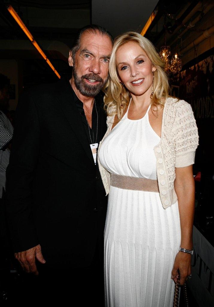 John Paul DeJoria and Eloise DeJoria at the Bratz Forever Diamondz Lounge.