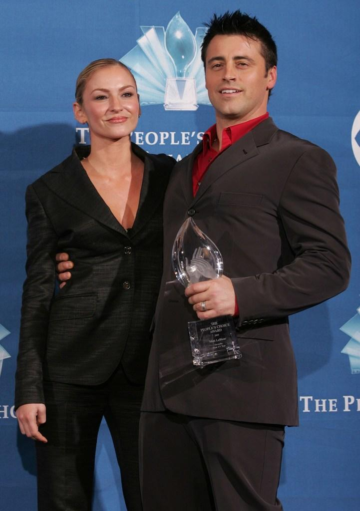 Drea de Matteo and Matt LeBlanc at the 31st Annual People's Choice Award.