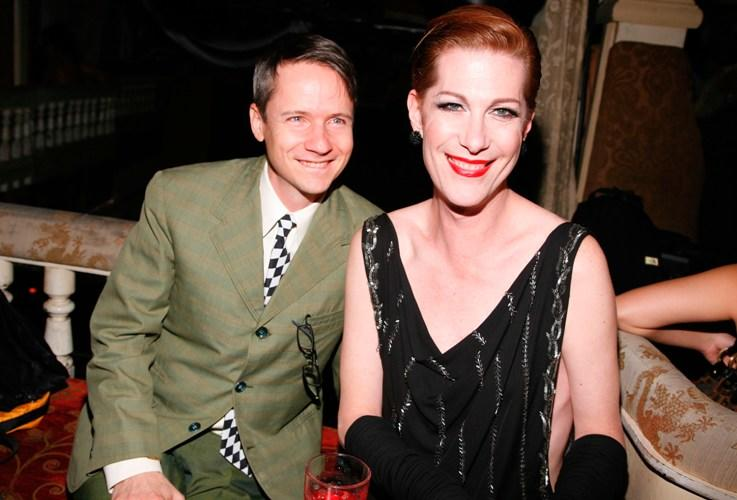John Cameron Mitchell and Justin Bond at the 2009 Fleshbot Awards.