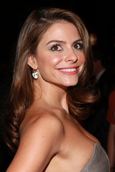 Maria Menounos at the premiere of