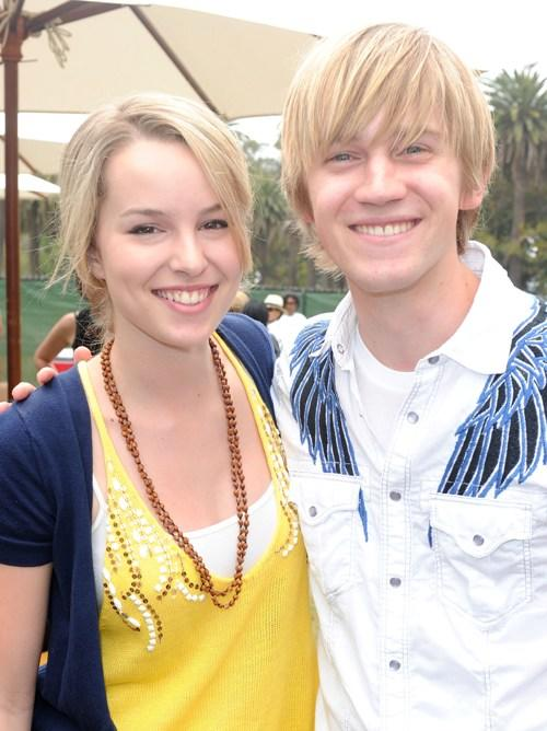Bridgit Mendler and Jason Dolley at the 21st A Time For Heroes Celebrity Picnic.