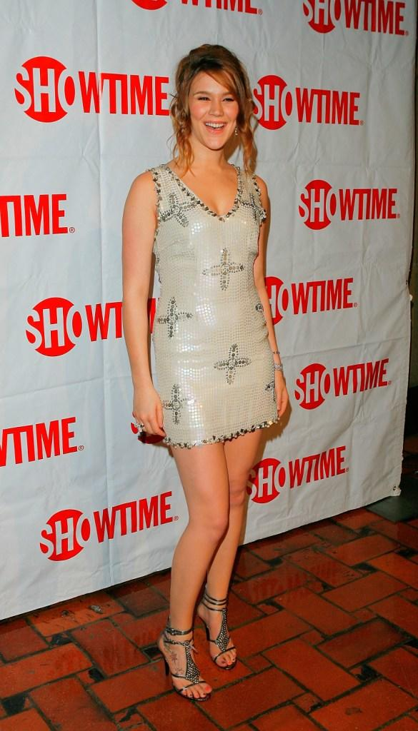 Joss Stone at the CBS and Showtime Network's Winter Television Critics Association Party.