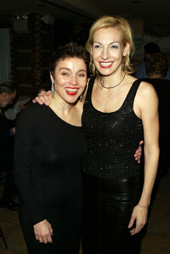 Christine Andreas and Ute Lemper at the 2004 Nightlife Awards Concert.