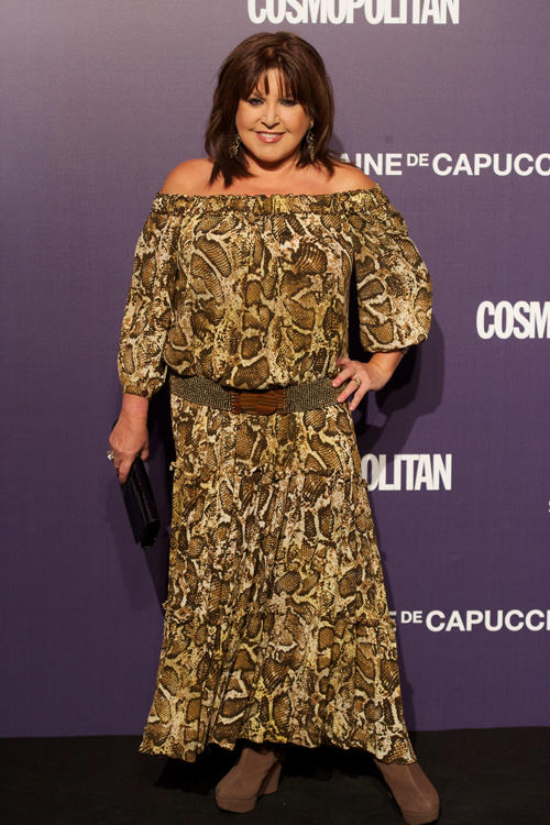Loles Leon at the Cosmopolitan Fun Fearless Female Awards 2011 in Madrid.