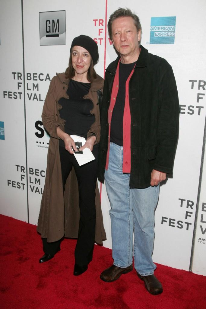 Marianne Leone and her husband Chris Cooper at the opening night premiere of