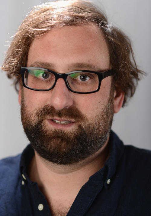 Eric Wareheim at the portrait studio for MSN Wonderwall at ChefDance in Utah.