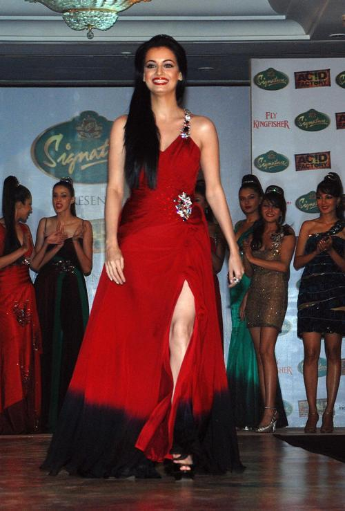 Diya Mirza at the promotion of