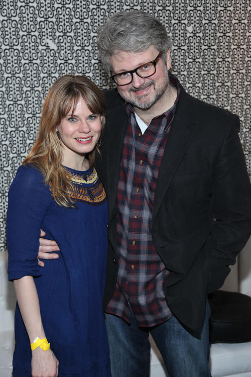 Celia Keenan-Bolger and John Ellison Conlee at the opening night of