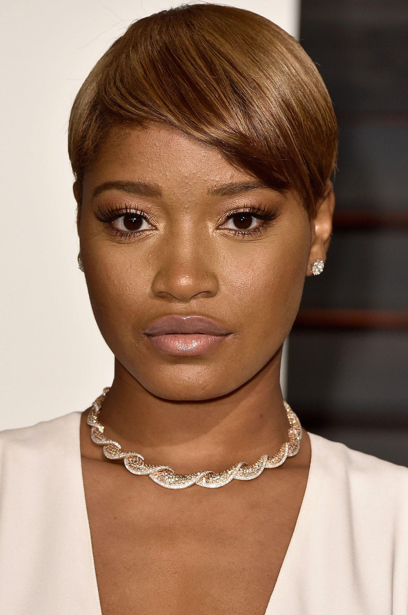Keke Palmer at 2015 Vanity Fair Oscar Party.