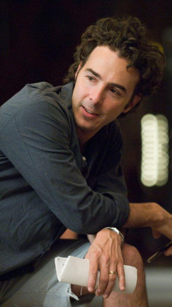 Director Shawn Levy on the set of