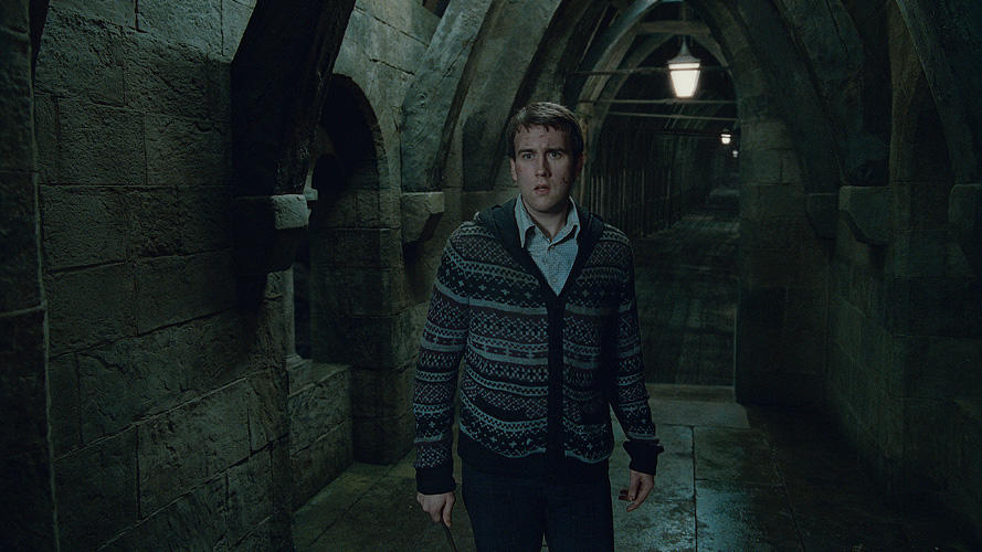 Matthew Lewis as Neville Longbottom in