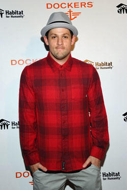 Joel Madden attends Dockers Khakis Make The Man Event at The Ainsworth.
