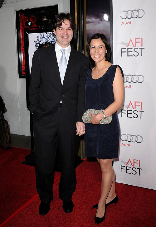 Andres Heinz and Guest at the closing night gala of