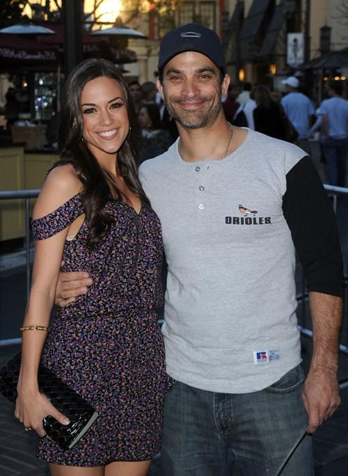 Jana Kramer and Johnathon Schaech at the Los Angeles premiere of