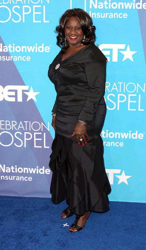 Judge Mablean Ephriam at the BET's Celebration of Gospel in California.