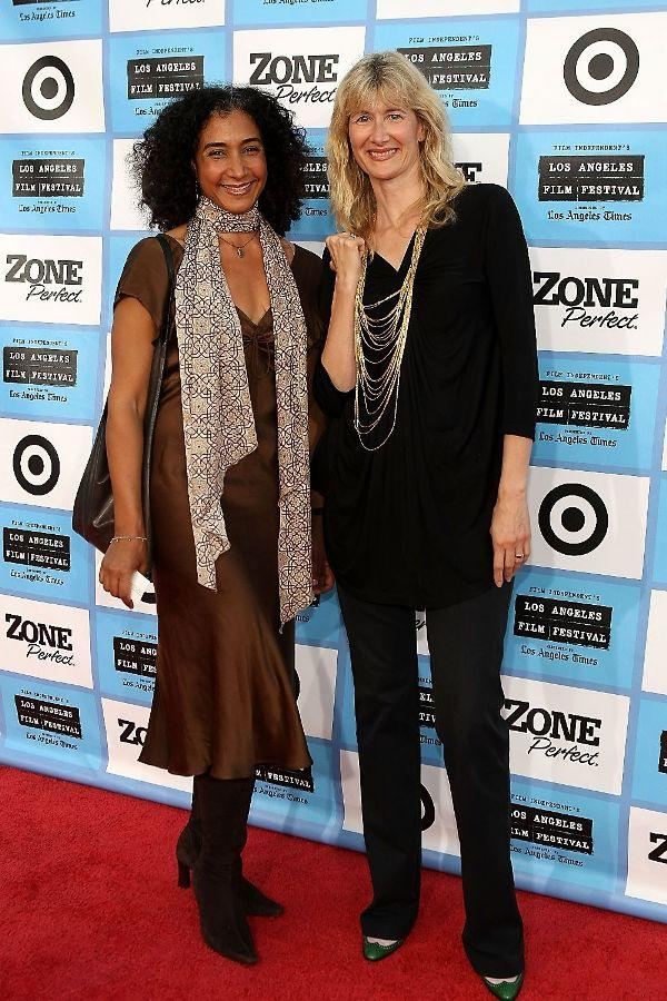 Bellina Logan and Laura Dern at the Los Angeles Film Festival.