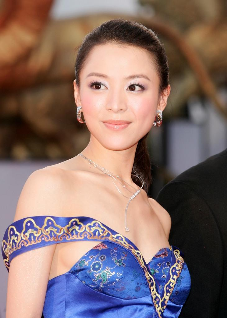 Zhang Jingchu at the opening Gala and premiere of