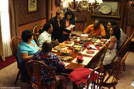 Mr. Brown (David Mann), Cora Brown (Tamela Mann), Will (Lamman Rucker), Vera (Jenifer Lewis), Sarah (Margaret Avery), L.B. (Frankie Faison), Harry (Rick Fox) and Brenda (Angela Bassett) in