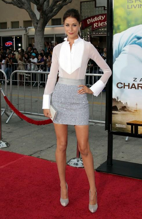 Amanda Crew at the California premiere of