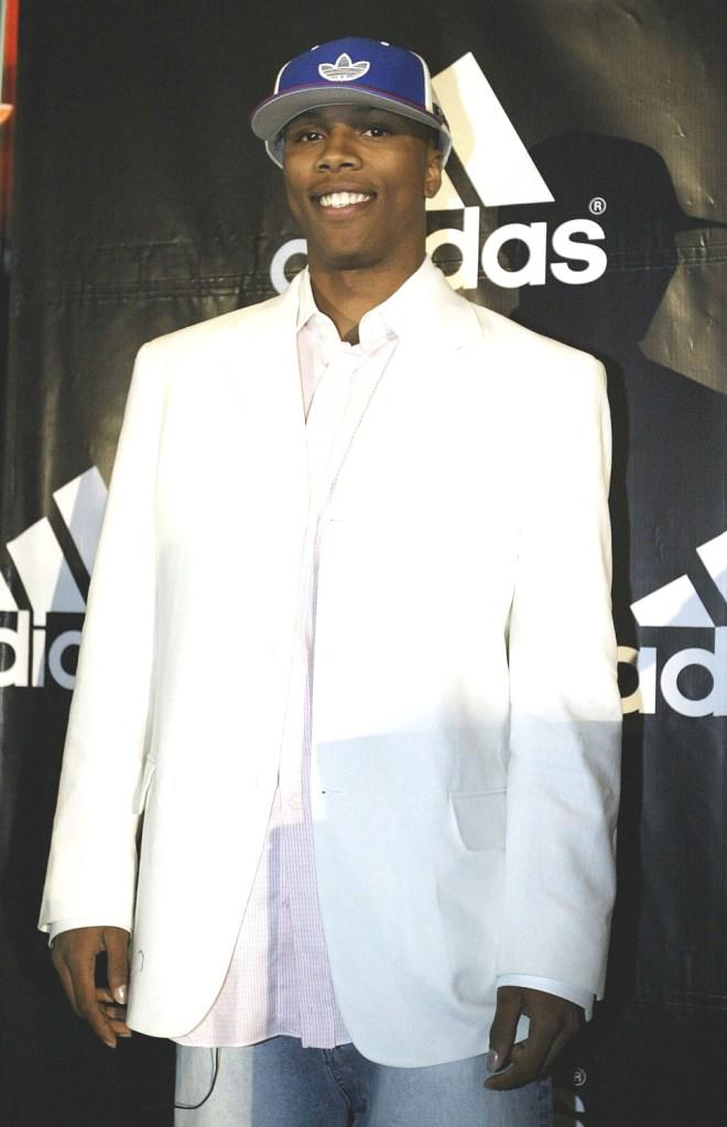 Sebastian Telfair at the Multi-year partnership agreement with Adidas.