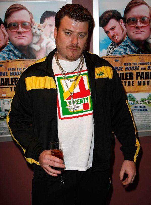 Robb Wells at the premiere of