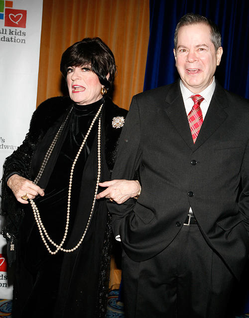 Jo Anne Worley and Peter Bartlett at the opening night party for