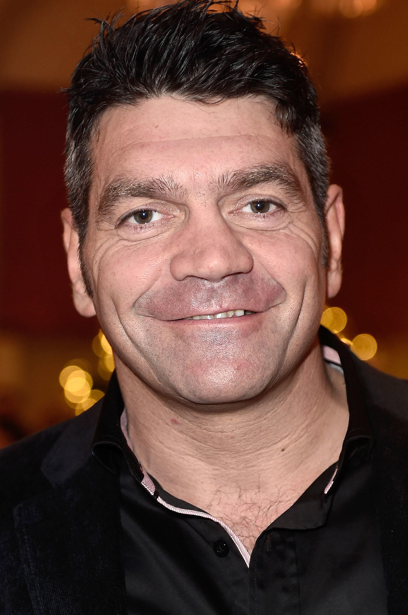 Spencer Wilding at the National Youth Theatre fundraiser in London.