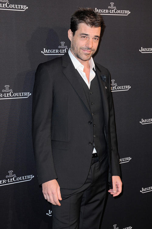 Thierry Neuvic at the opening of Jaeger-LeCoultre Place Vendome Boutique in Paris.