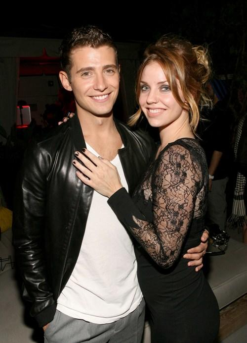 Julian Morris and Kelli Garner at the ABC