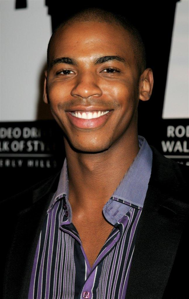 Mehcad Brooks at the Rodeo Drive Walk of Style event.