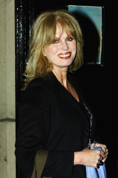Joanna Lumley at the New Queen's Hall Orchestra Charity Recital.