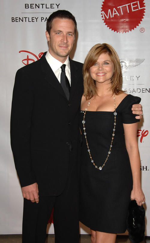 Brady Smith and Tiffani Thiessen at the 7th Annual Wish Night on behalf of the Make-A-Wish Foundation in California.