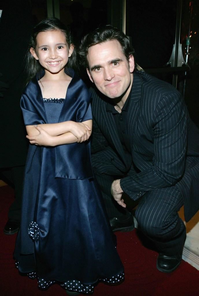 Ashlyn Sanchez and Matt Dillon at the afterparty of the premiere of