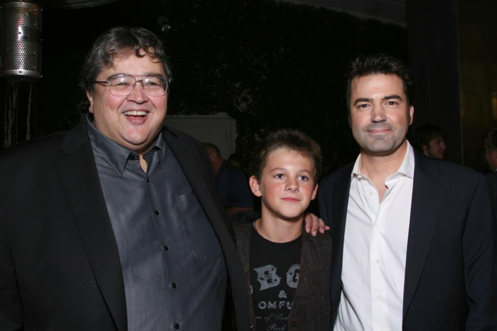 Richard Pimentel, Ridge Canipe and Ron Livingston at the after party of
